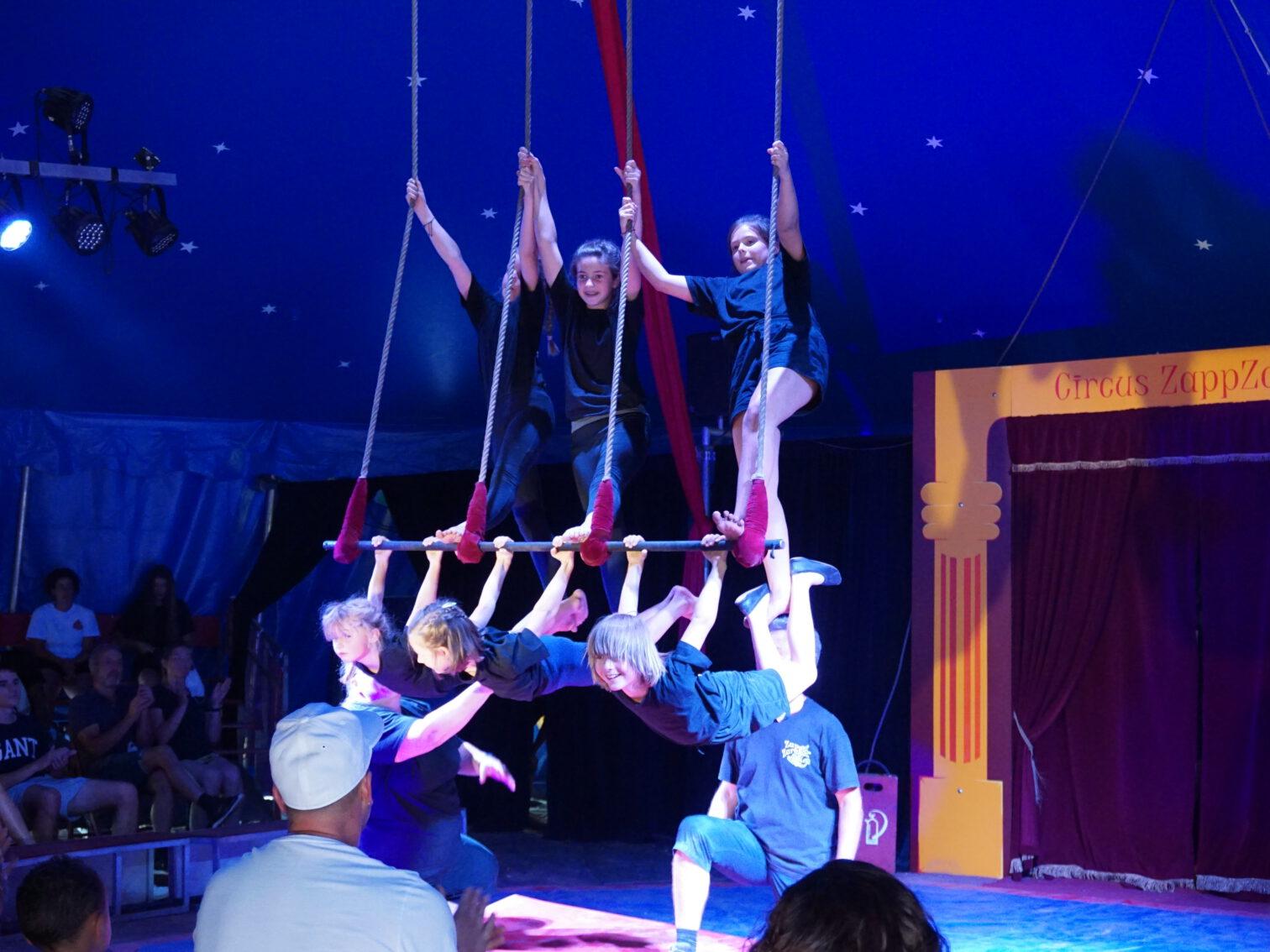 Aufführung Zirkusprojekt 2
